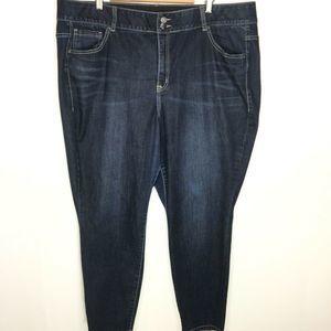 Lane Bryant Tighter Tummy Technology Jeans Sz 24S